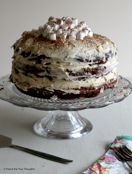 Three Tier Baileys Chocolate Cake