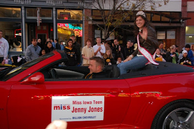 Jenny Jones, Iowa, Teen, USA, National, American, Miss, a scam, corvette convertible,  chevy, NAM  winners,  parade