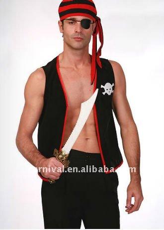 Fantasias de Carnaval Masculino pirata