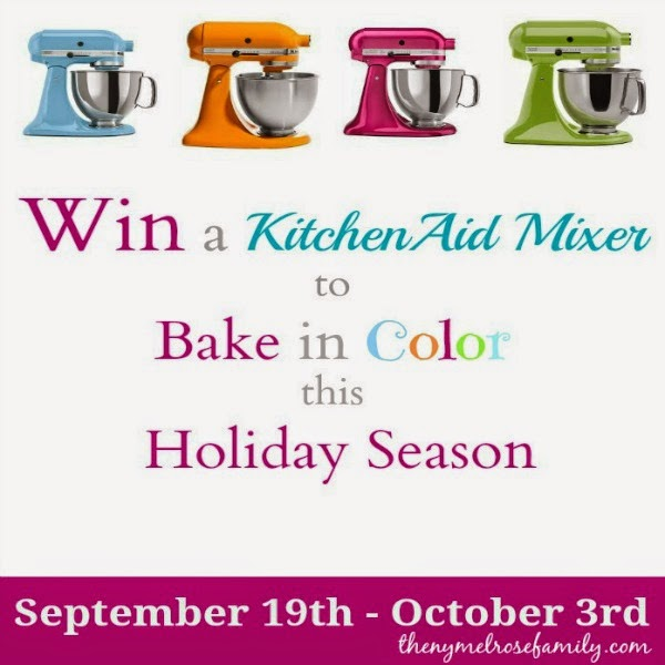 Kitchen Aid Mixer Giveaway