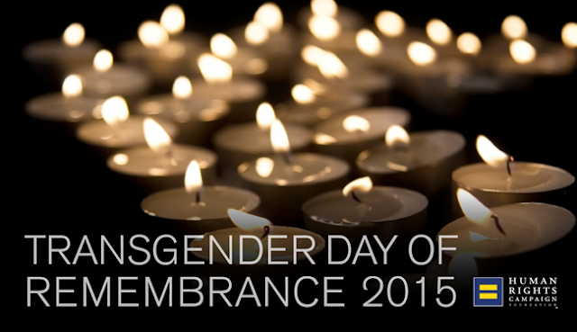 Transgender Day of Remembrance 2015. Image by HRC