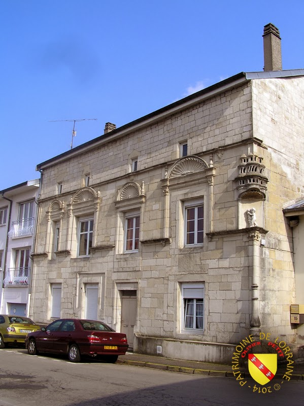 Patrimoine de lorraine toul 54 ancienne abbaye saint evre for Maison toul
