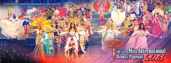 53rd Miss International 2013 - Tokyo, Japan