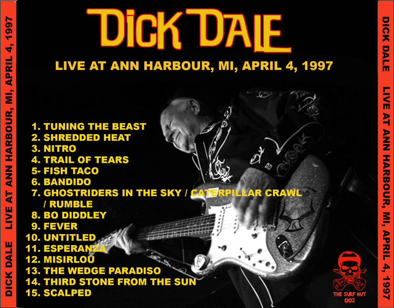 SX SST Edición Limitada con de Dick Dale: Misirlou