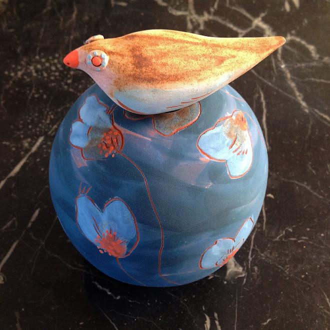 """"""" Petit vase à Oiseau """""""