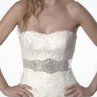 Crystal sash bridal belt-Sash&co