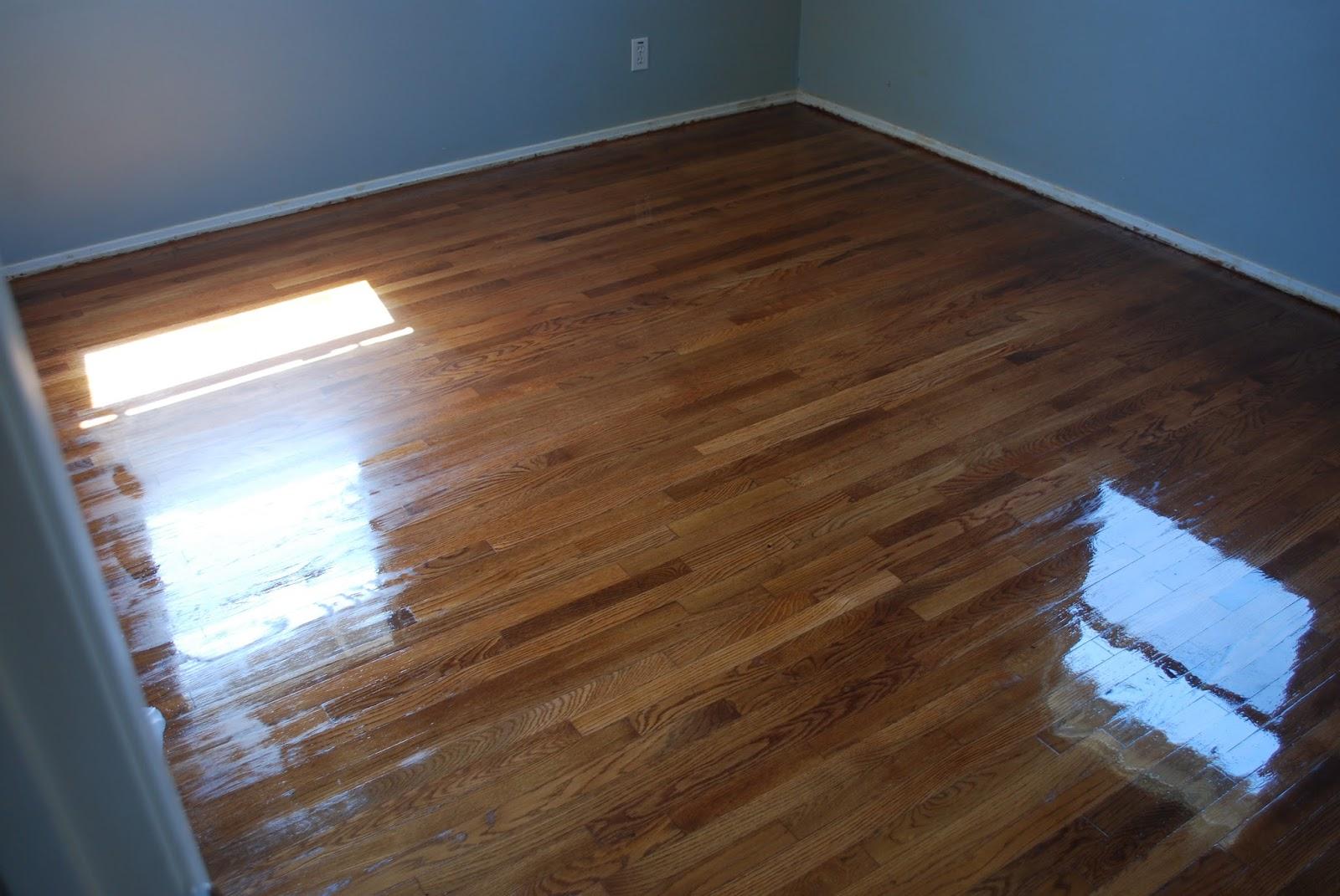 Kraken crafts refinished hardwood floors for Hardwood floors too shiny