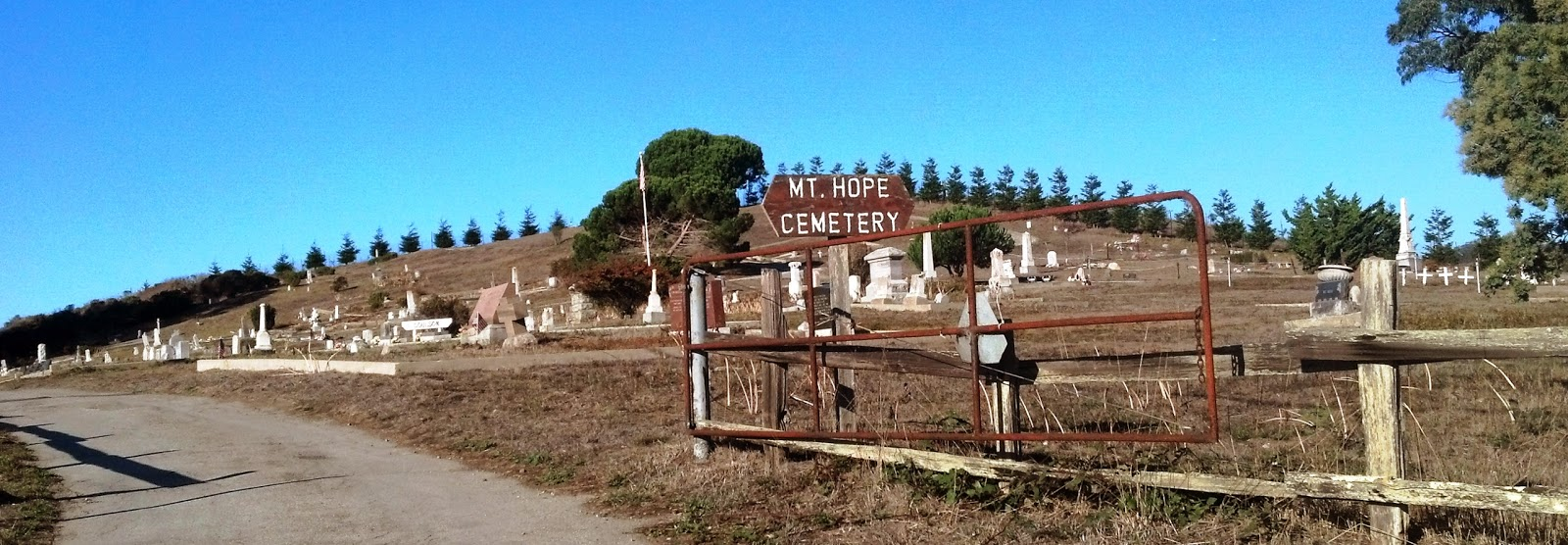 California san mateo county pescadero - Right Next Door To St Anthony S In Pescadero Is Mount Hope Cemetery Like St Anthony S It Is A Rural Cemetery There Is No Lawn But The Cemetery Does Not