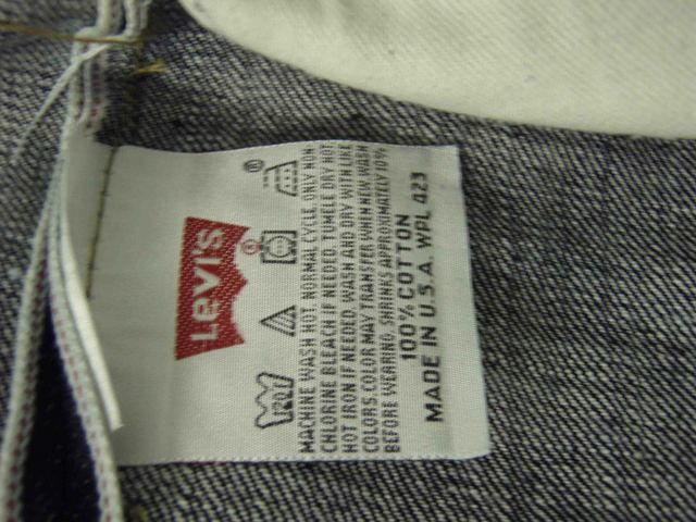 levi commuter jeans washing instructions