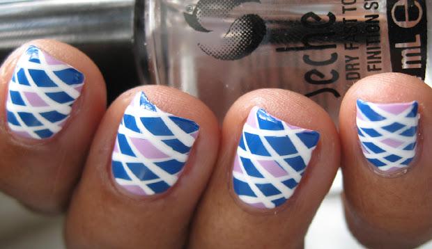 karine vernis club preppy nails