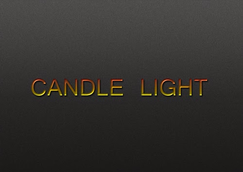 Create a Candle Light Text Effect In Photoshop