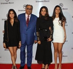 Sridevi Family At Stefano Ricci Flagship Launch Photos