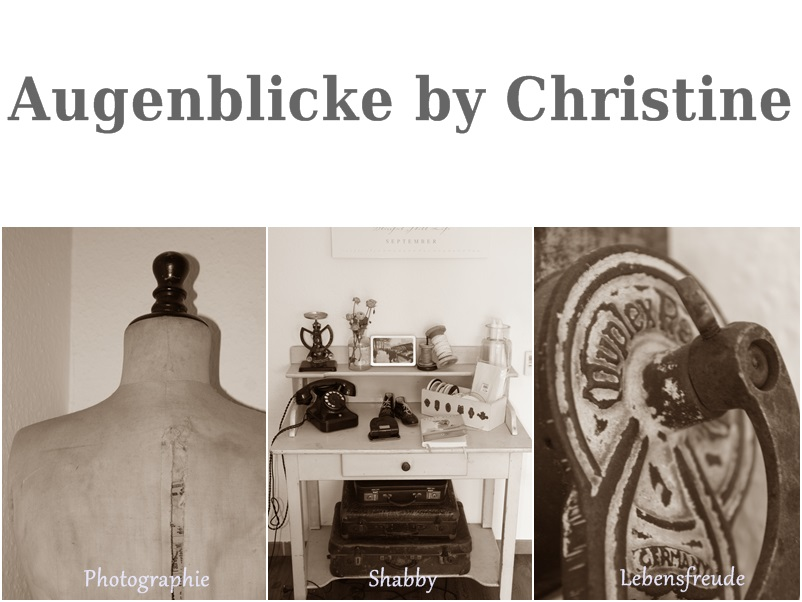 Augenblicke by Christine