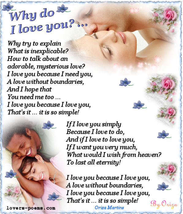 Poem I Love You Quotes for Him