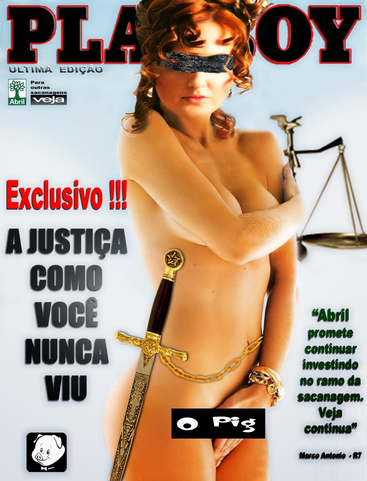 Eclusivo Ltima Capa Da Revista Playboy