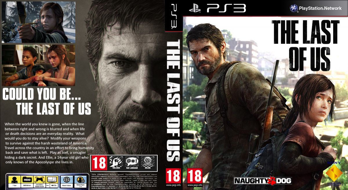 Capa The Last Of Us PS3