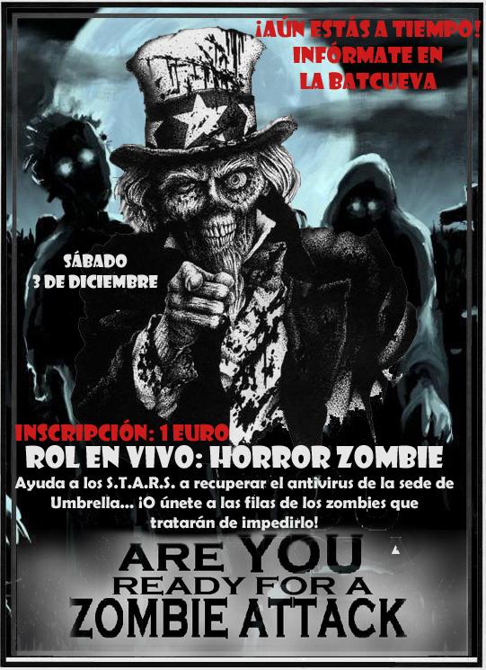 rol en vivo zombie megagumi