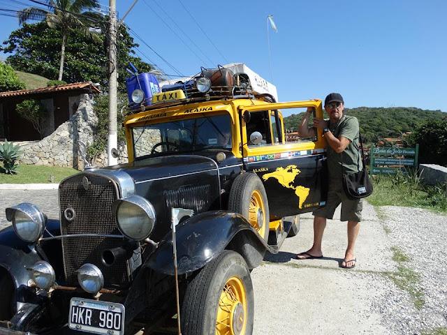 Taxi Latino en Búzios, Chevrolet 1931