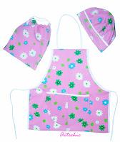 Artechic bolsos y bolsas de tela delantales cojines - Delantales y gorros de cocina para ninos ...