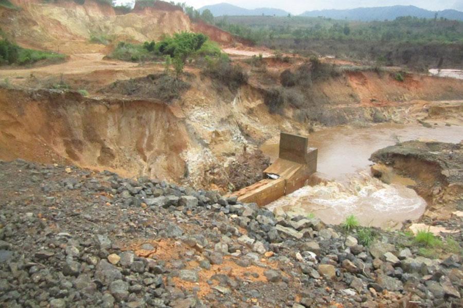 Gia Lai: Nguy cơ xảy ra đói sau vỡ đập thủy điện Ia Krêl 2