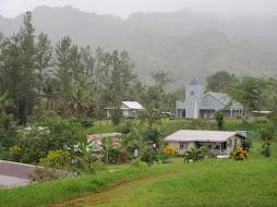 typical hillside village