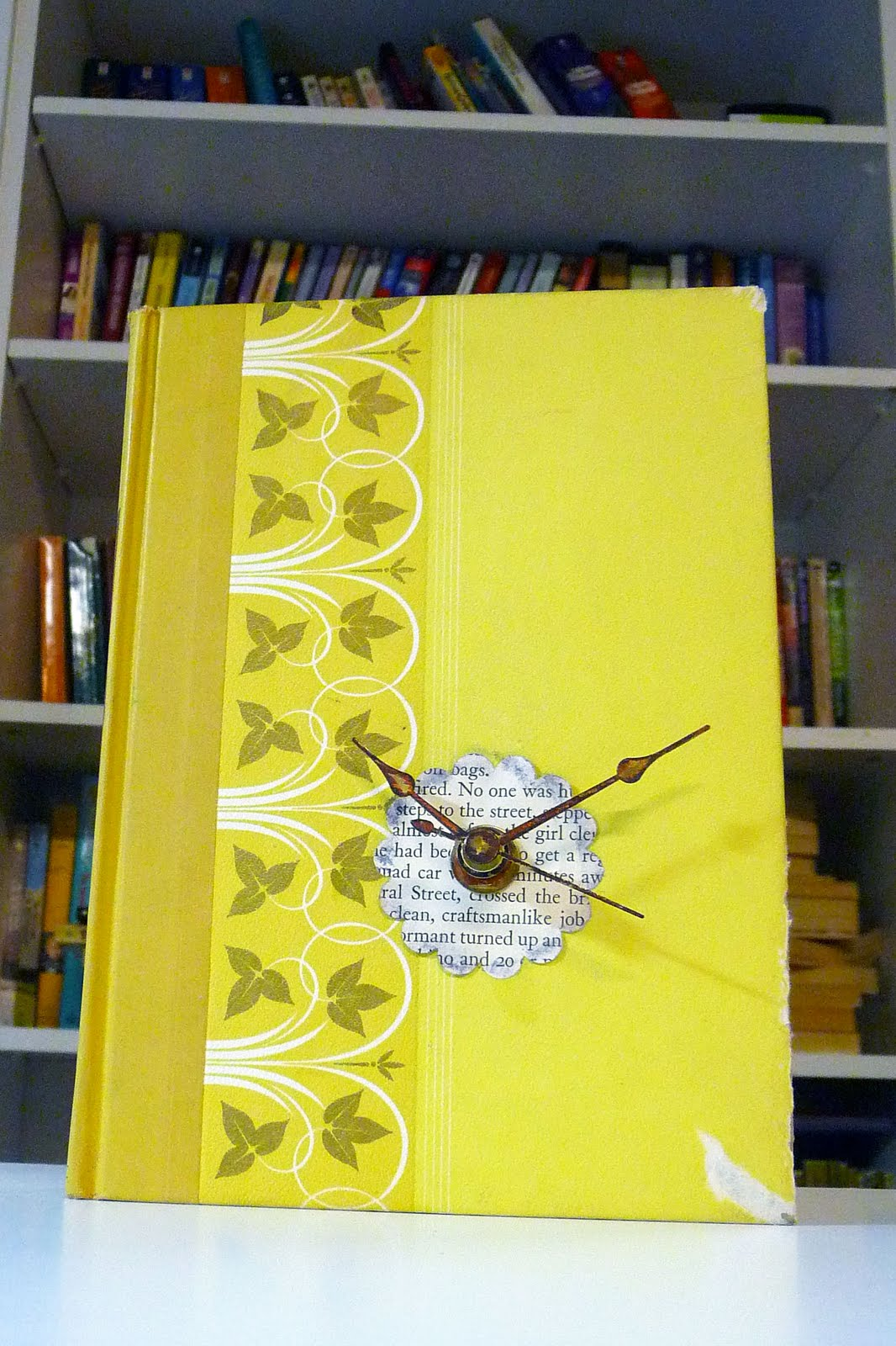 Book Clock Tutorial Shealynnu0027s Faerie