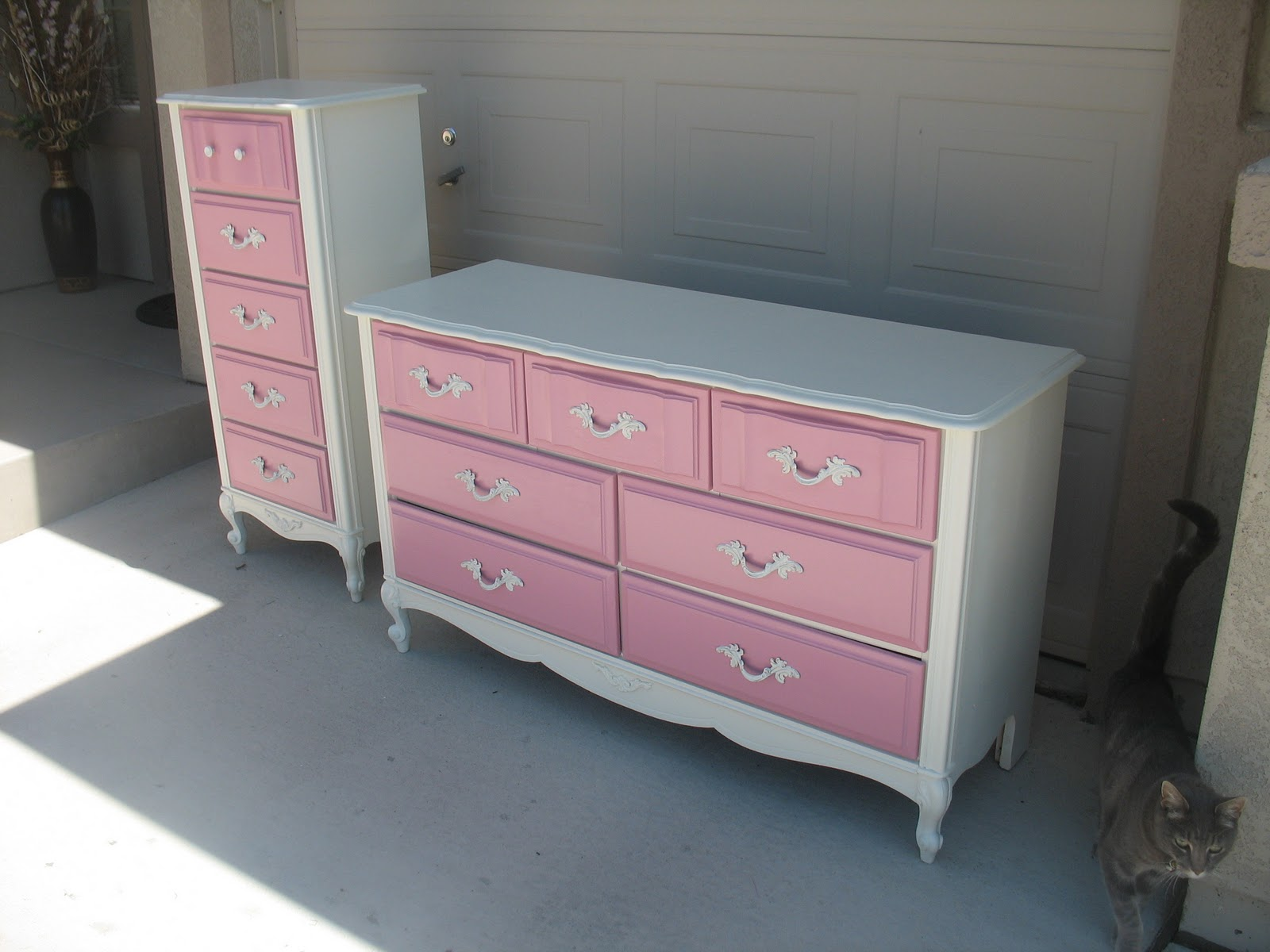 French Provincial To Chic Shabby Sweet S Dresser Set