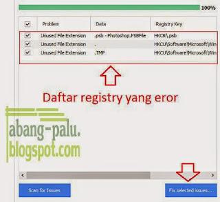 memperbaiki registry windows yang rusak