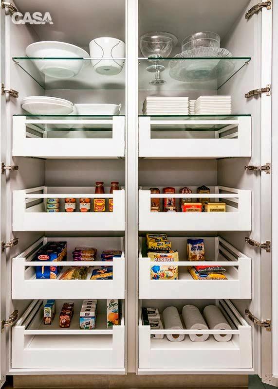 Perfeita ordem blog de decora o cozinhas e despensas - Armarios despensa ...