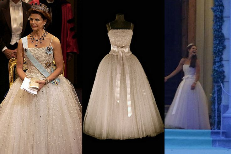 Princess Madeleine wears one of her mother\'s dresses to wedding ...