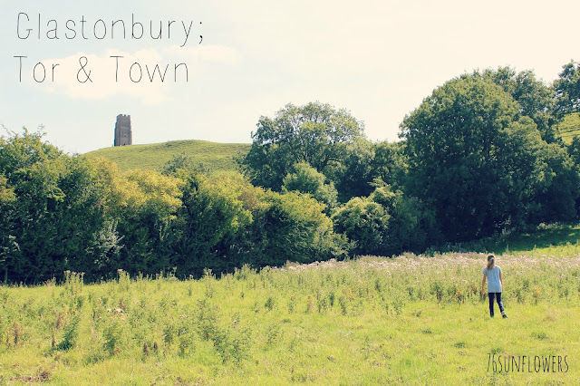 Glastonbury; Tor & Town // 76sunflowers