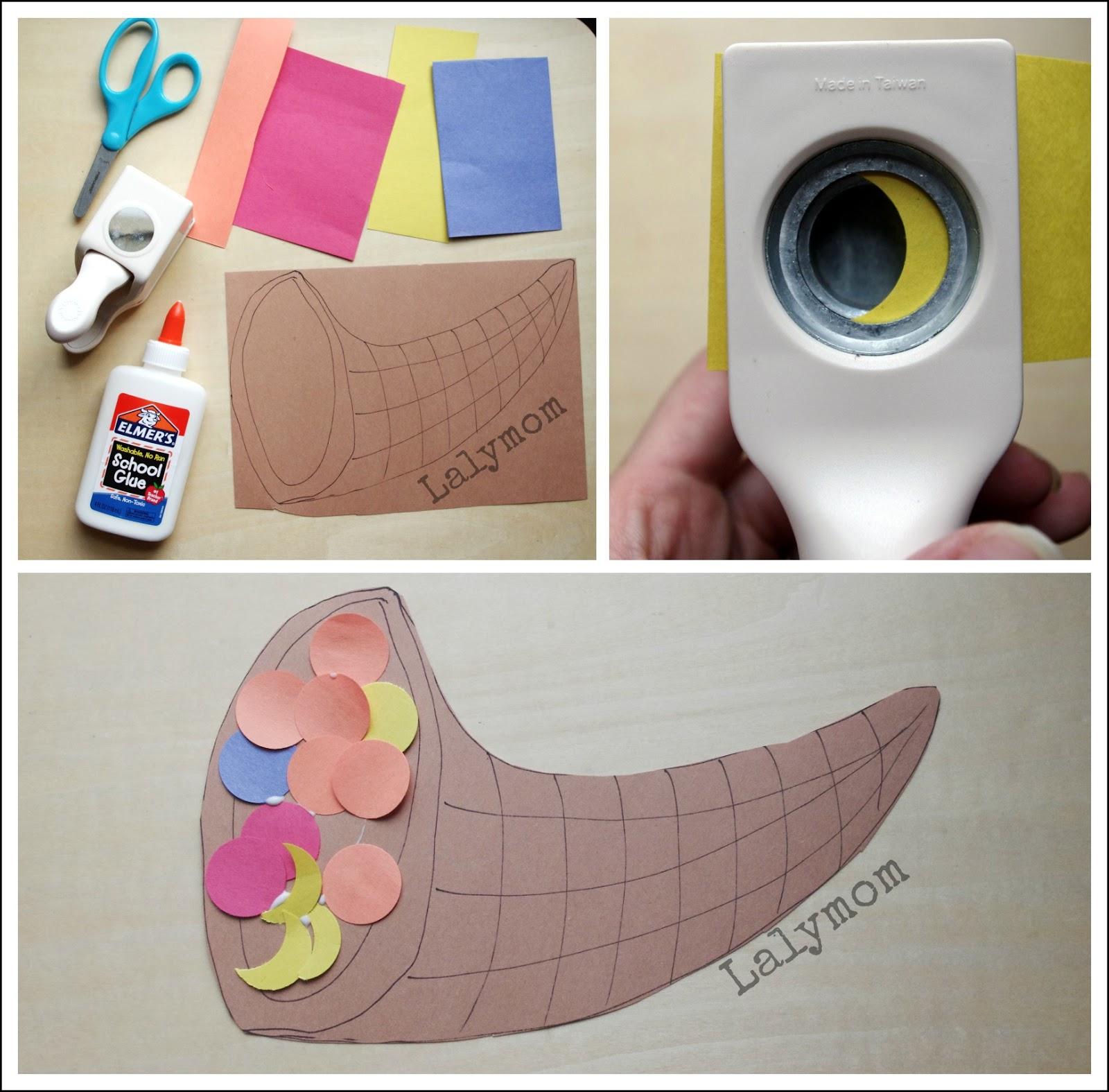 Cornucopia Art Project Fine Motor