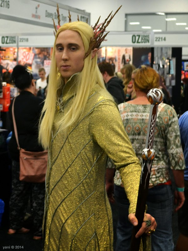oz comic-con adelaide - king thranduil