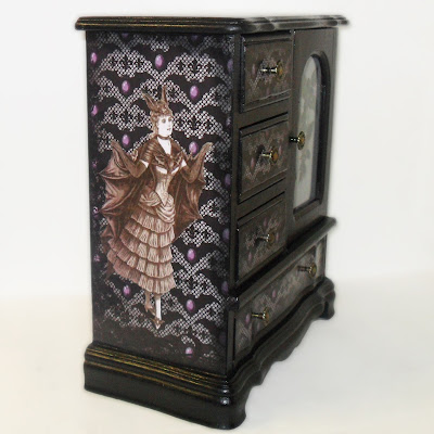 Bat Woman Jewelry Box