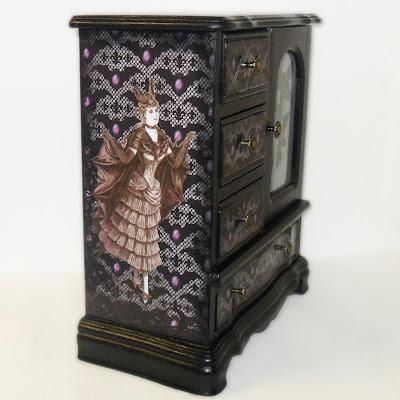 Bat Woman Jewelry Box