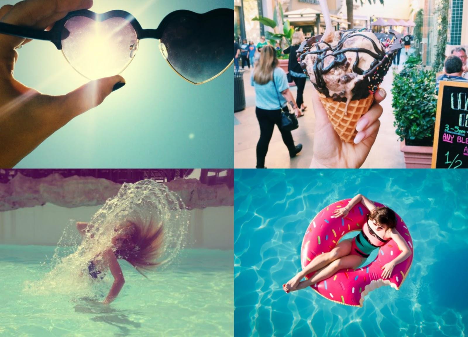 Inspiração para tirar fotos no verão #2