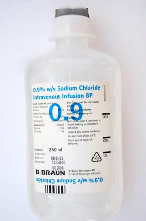 Normal saline solution sodium chloride injection diseases and drugs