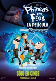 Phineas y Ferb, la película. A través de la 2ª Dimensión (2011)