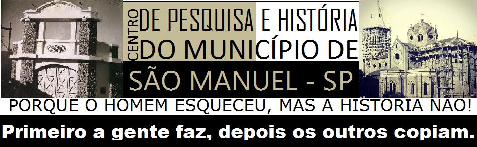 CENTRO DE PESQUISA E HISTÓRIA DE SÃO MANUEL