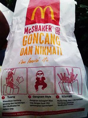McShaker Gangnam Style