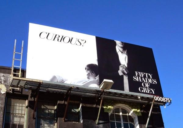 Fifty Shades of Grey movie billboard