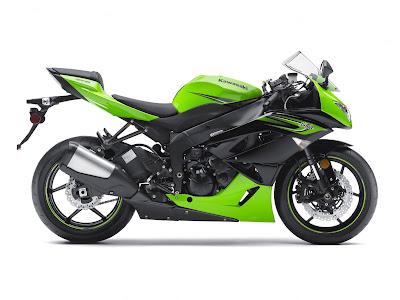 2011 Kawasaki Ninja ZX-6R Motorcycles