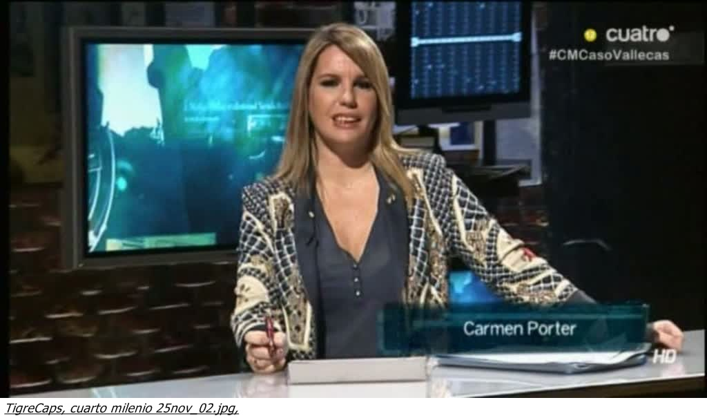 El Baúl de las Famosas: Carmen Porter \'\'cuarto milenio\'\' 25/11