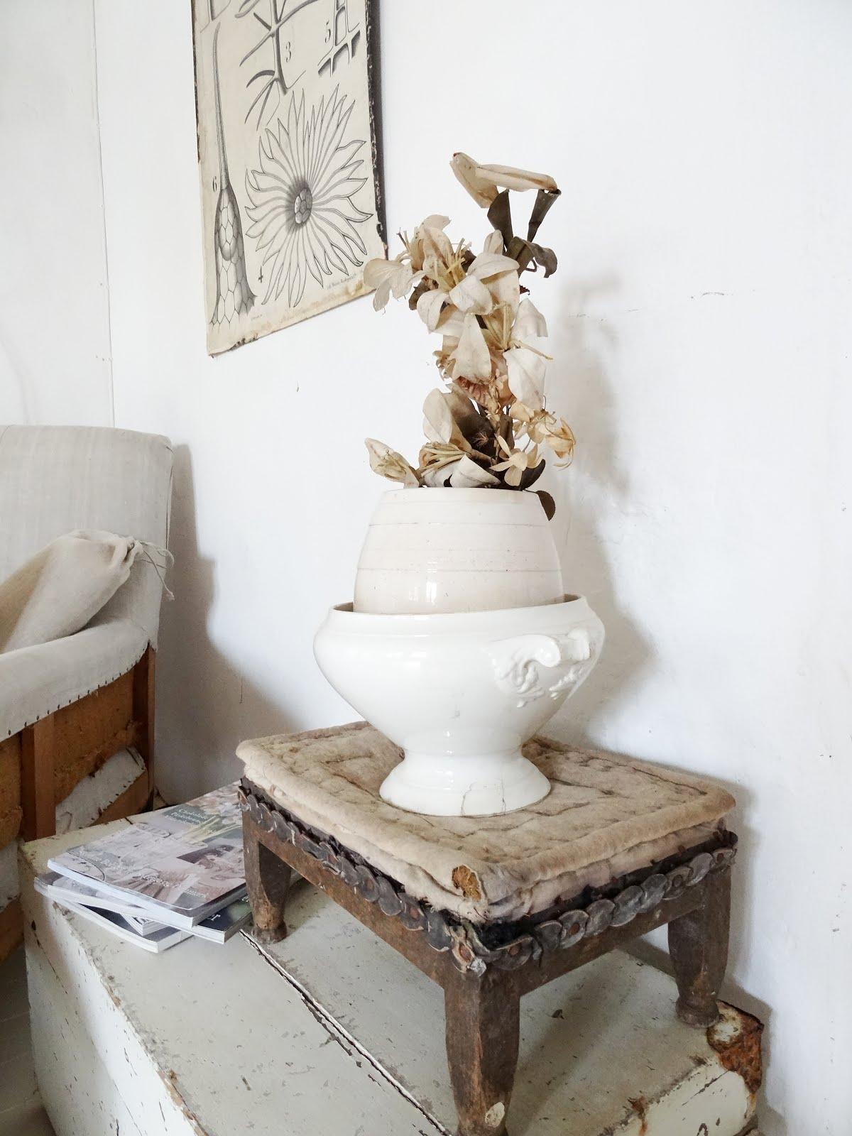 antike französische Keramik