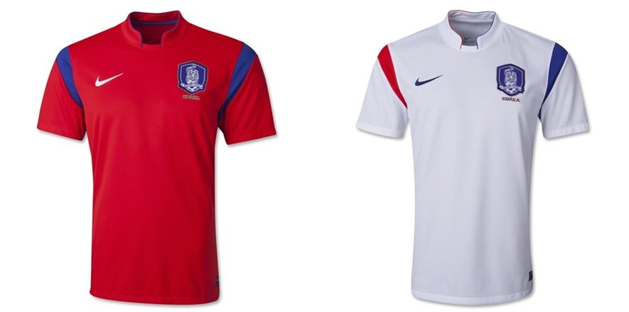 Korea Selatan - Jersey Grade Ori Piala Dunia 2014
