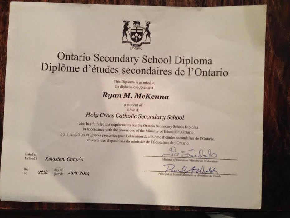 high school diploma 2 essay