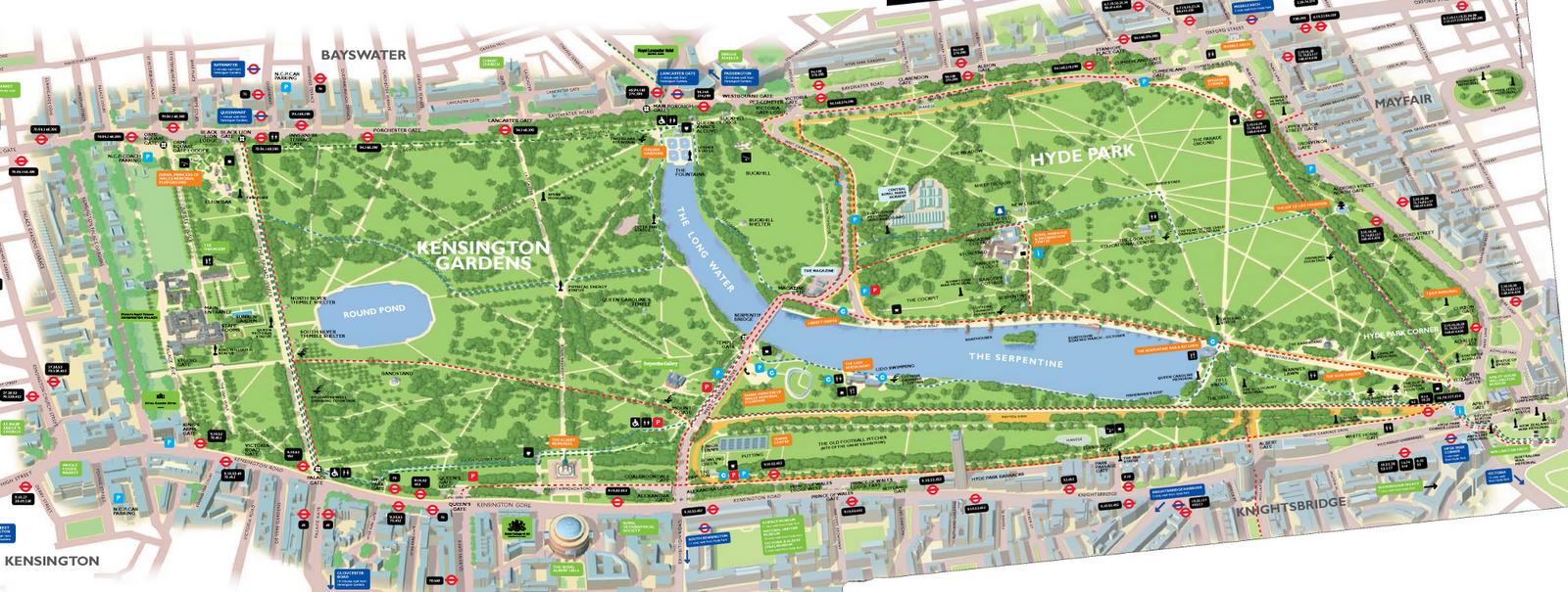 Image gallery kensington gardens and for Kensington park