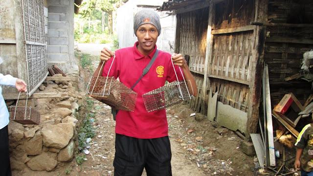 Foto bareng Tikus