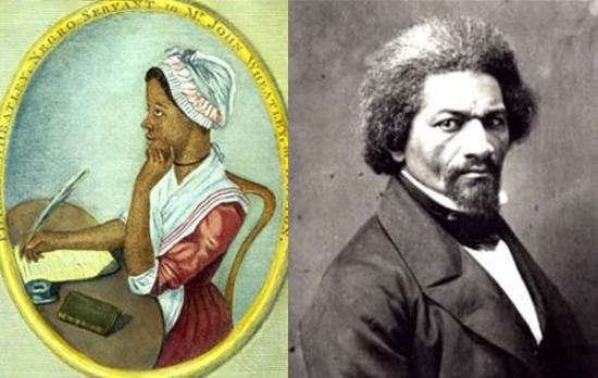 a comparison of tones used by frederick douglass and phillis wheatley A summary of themes in frederick douglass's narrative of the life of frederick douglass learn exactly what happened in this chapter, scene, or section of narrative of the life of frederick douglass and what it means.