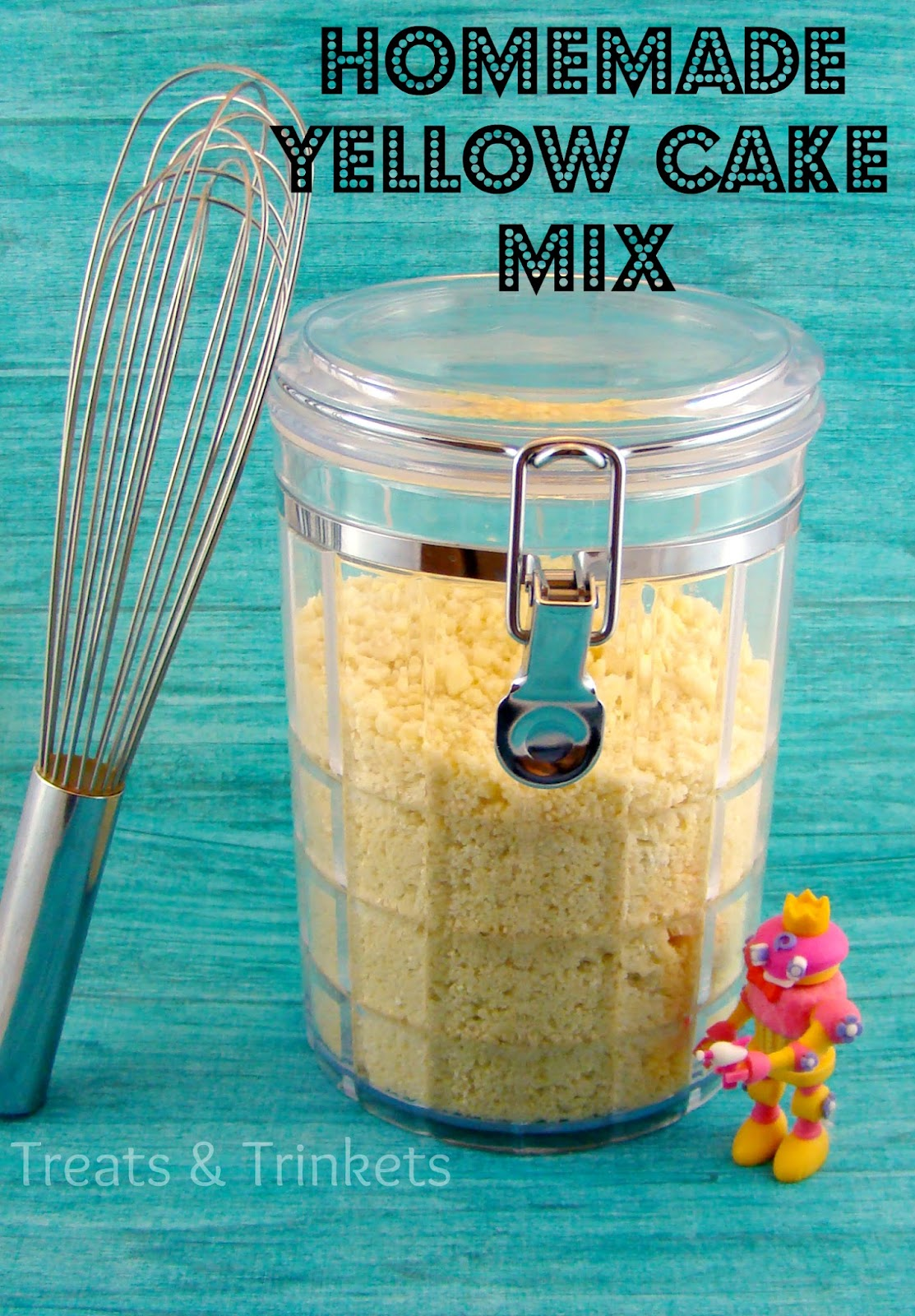 Homemade Yellow Cake Mix Without Dry Milk